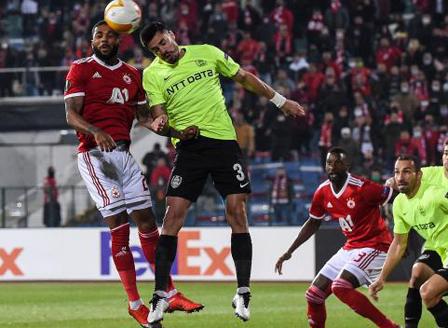 ЦСКА София стартира със загуба в Лига Европа