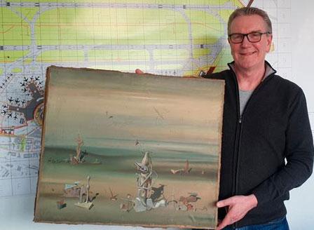 Картина за 280 000 евро открита в контейнер за боклук