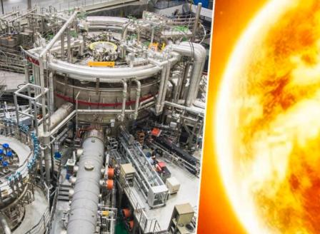 Изкуствено слънце просъществува 20 секунди