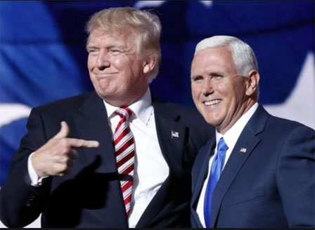 Майк Пенс отказа да използва 25-ата поправка на Конституцията, за да отстрани Тръмп
