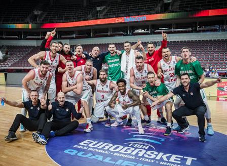 Баскетболистите отиват на европейско за първи път от 10 години