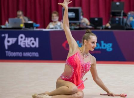 Злато, сребро и два бронза за Боряна Калейн на финалите на Гран При в Москва
