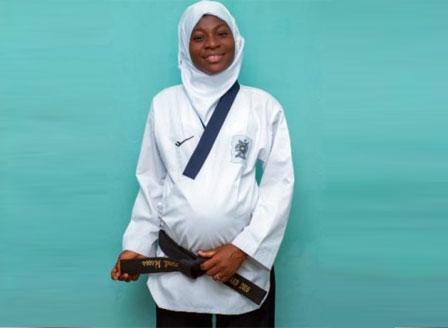 Бременна в осмия месец спечели златен медал по таекуондо (ВИДЕО)