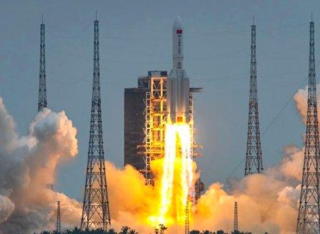 Китай пуска първи модул от нова космическа станция