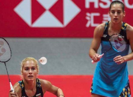 Габриела и Стефани Стоеви на четвъртфинал на европейското