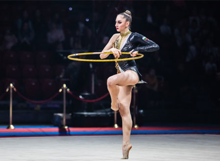 Боряна Калейн Калейн е абсолютна шампионка на Държавното първенство
