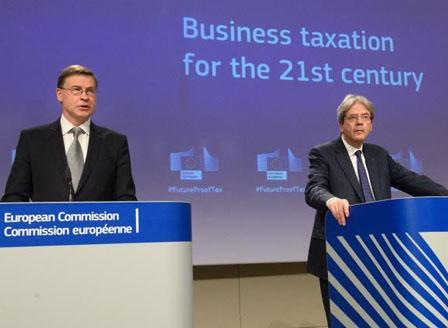 ЕК предлага унифициран корпоративен данъчен режим