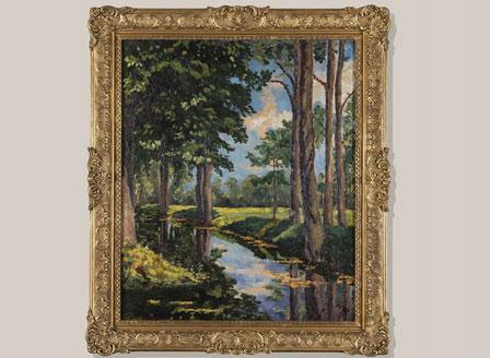 Картина на Чърчил беше продадена за 1,8 млн. долара