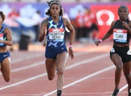 Илейн Томпсън-Хера над всички в спринта на 200 метра