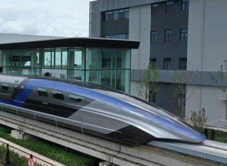 Китай показа най-бързия влак в света