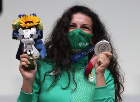 Антоанета Костадинова с олимпийски медал