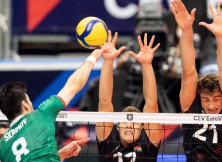 България отпадна от европейското първенство по волейбол
