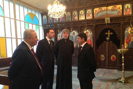 След реконструкцията, желязната църква Свети Стефан в Истанбул, ще бъде важен духовен център