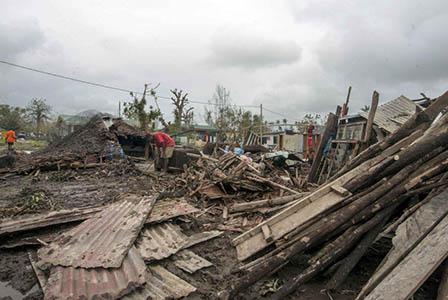 Вануату напълно опустошен след урагана Пам