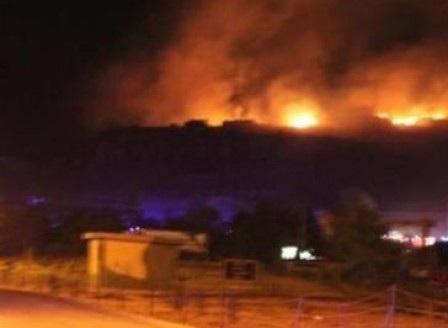 Взрив на склад за боеприпаси край Сопот