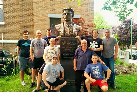Паметник на Левски ще бъде открит на 24 май в Чикаго