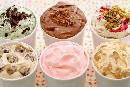 Протеин пречи на сладоледа да се топи