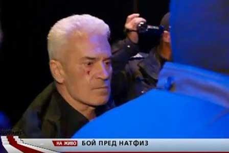 Бой и арести след проявата на Сидеров в НАТФИЗ