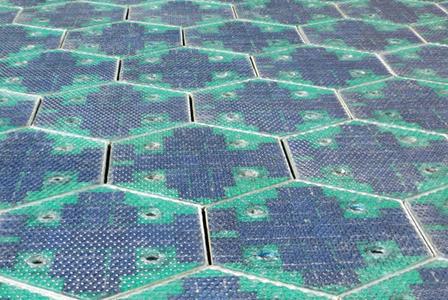 Първото в света соларно шосе беше открито във френски регион Нормандия