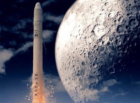 Спейс Екс ще организира полет на двама души до Луната