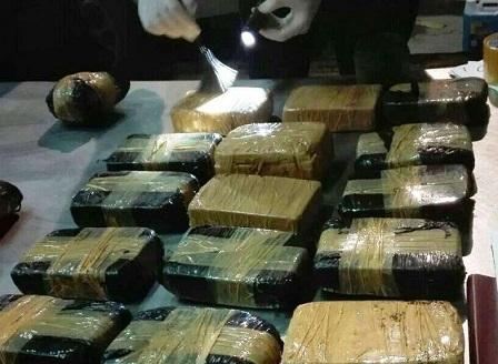 Рекордно количество хероин беше заловено на българо-турската границата