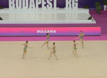 Бронзов медал за България на Европейското първенство по художествена гимнастика