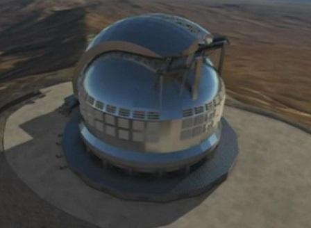 В Чили започна строежът на най-големия телескоп в света
