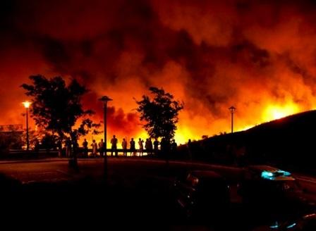 Увеличава се броят на жертвите на горския пожар в Португалия