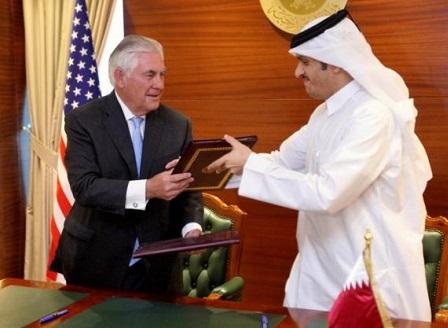 САЩ и Катар подписаха споразумение за борба с тероризма