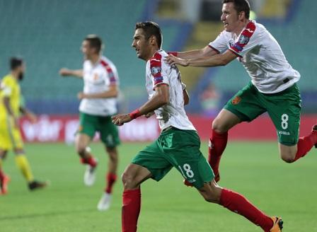 Епична победа за българския национален отбор по футбол срещу Швеция