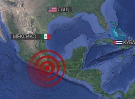 15 станаха жертвите на мощното земетресение в Мексико