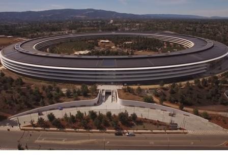 Новият кампус на Apple е почти готов