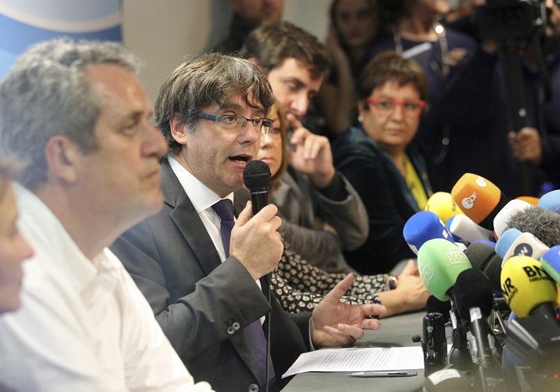 Карлес Пучдемон: Ще се върна в Испания при гаранции за независимо правосъдие