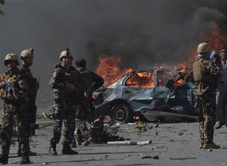 Взрив в дипломатическия квартал в Кабул