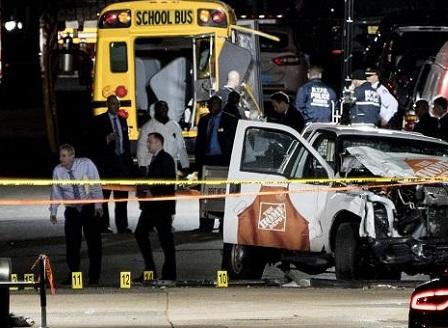 8 души загинаха при атентат в Ню Йорк