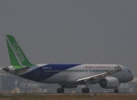 Китай е на крачка да пусне първия си пътнически самолет