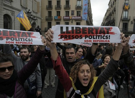 Испанският конституционен съд анулира декларацията за независимост на Каталуния