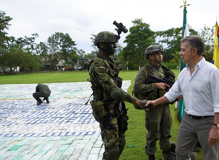 Заловиха 12 тона кокаин в Колумбия