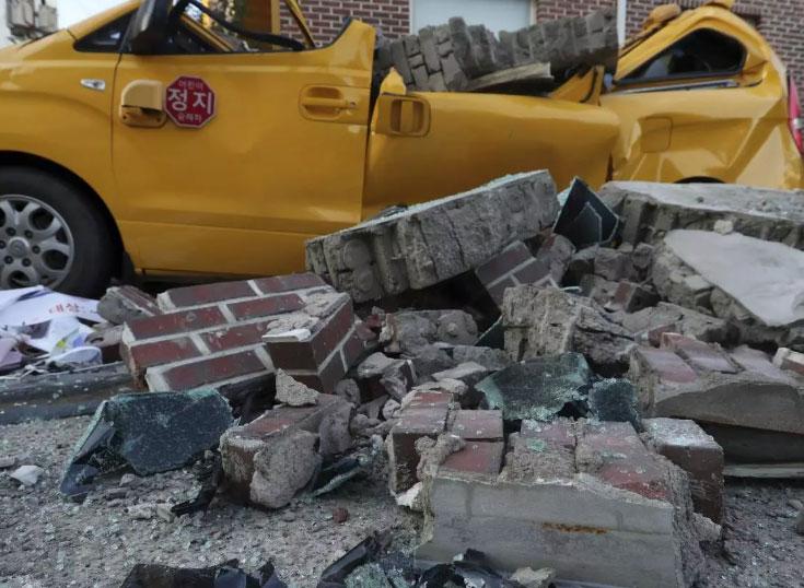 Земетресение удари Южна Корея