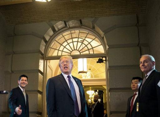 Доналд Тръмп, данъчната реформа Финанси