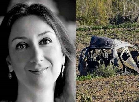 Повдигнаха обвинение на предполагаемите убийци на журналистката Дафне Галиция