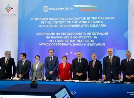 В София се проведе среща на лидерите на Западните Балкани и Световната банка