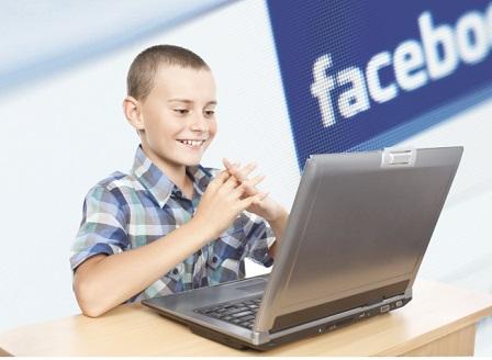 Фейсбук, приложение, деца технологии