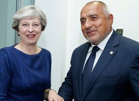 Официална визита на премиера Бойко Борисов в Лондон
