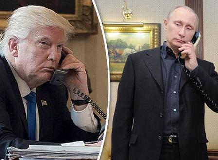 Доналд Тръмп и Владимир Путин обсъдиха кризата със Северна Корея в телефонен разговор