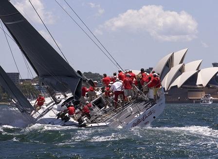 Яхтата Уайлд Оутс XI спечели регатата Сидни  Хобарт с рекордно време