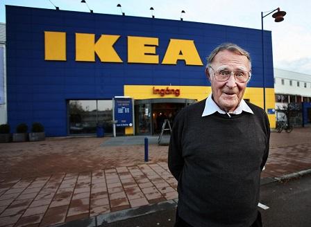 Почина основателят на ИКЕА