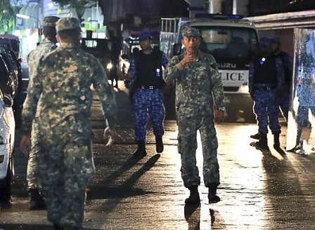 Президентът на Малдивите обяви извънредно положение