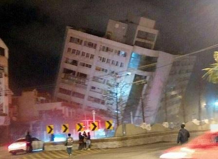 Тайван все още се бори с последиците от унищожителния трус от 6,4 по Рихтер