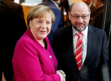 Меркел и Шулц се споразумяха за правителство